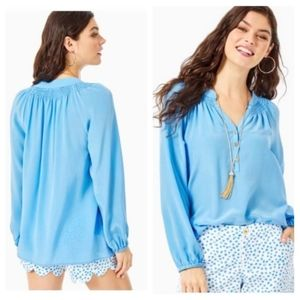 Lilly Pulitzer Elsa Silk Blouse